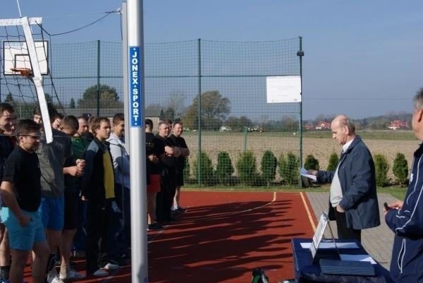 osp konopnica radawczy drugi boisko turniej zawody siatkówka