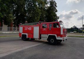 Samochód pożarniczy Jelcz 422